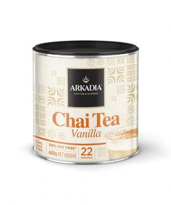 arkadia vanilla chai tea powder in 440g
