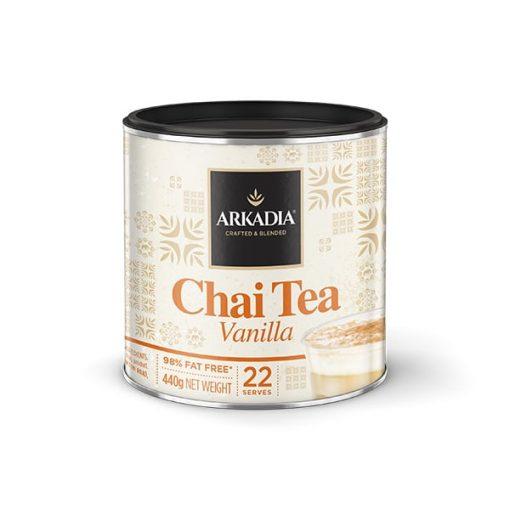 arkadia vanilla chai tea powder in 440g