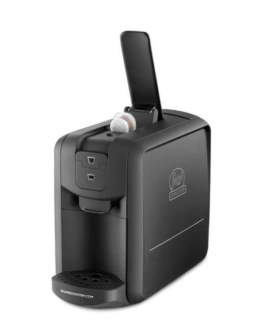 my espresso one capsule machine black segafredo zanetti. Black Bedroom Furniture Sets. Home Design Ideas