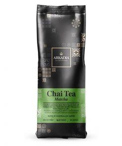 arkadia chai tea powder in matcha