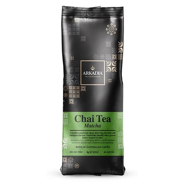 arkadia chai tea matcha powder