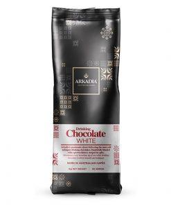 arkadia drinking white chocolate powder