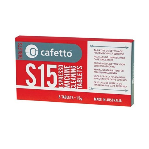 cafetto cleaning tablets for espresso machines