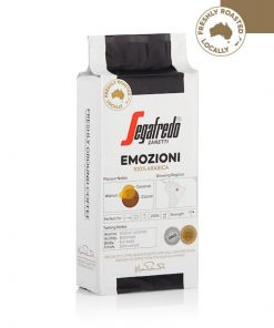 segafredo emozioni 250g ground coffee