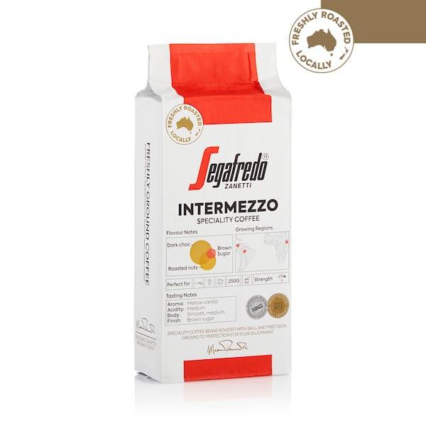 segafredo intermezzo ground coffee