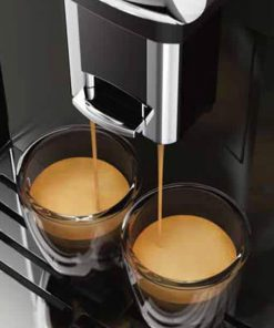 pouring coffee gaggia anima