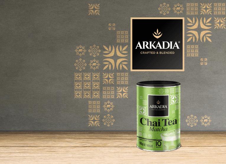 Matcha green tea latte powder