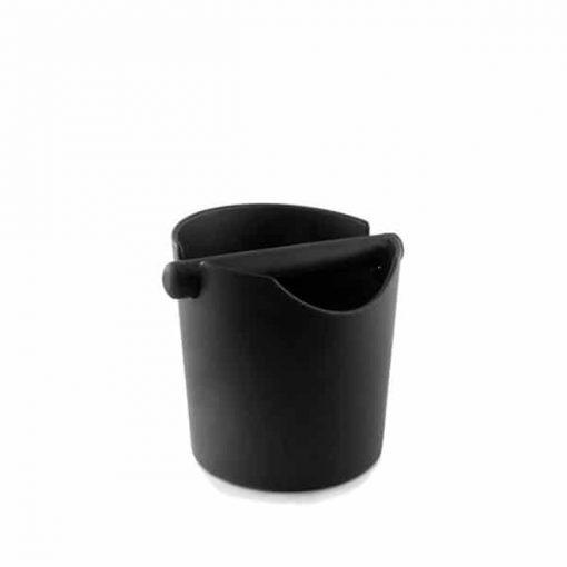 coffee knock tube in black
