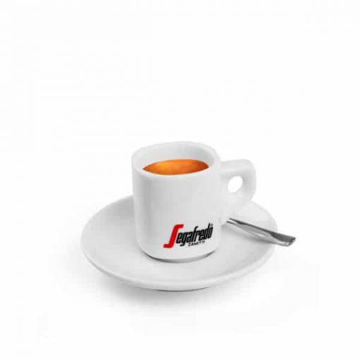 segafredo espresso cup with saucer