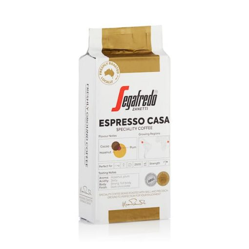 segafredo espresso casa ground coffee