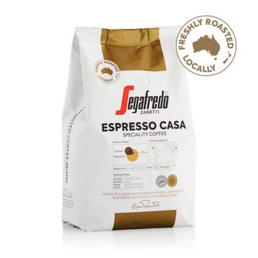 segafredo zanetti coffee beans espresso casa