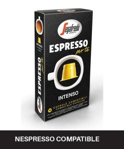 espresso per te intenso coffee capsules