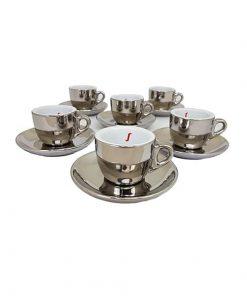 Baristapro Chrome Espresso Cups