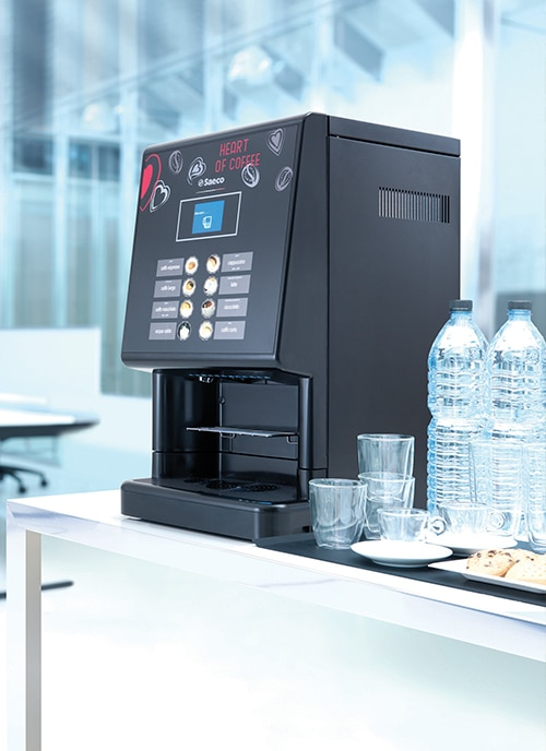 saeco coffee solution for hotels