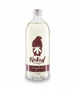 hazelnut flavour naked syrups