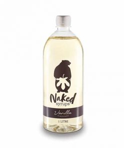 vanilla flavour naked syrups