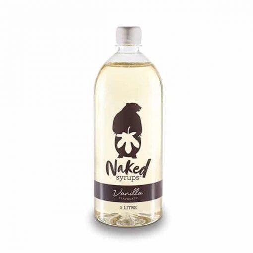 vanilla flavour naked syrups