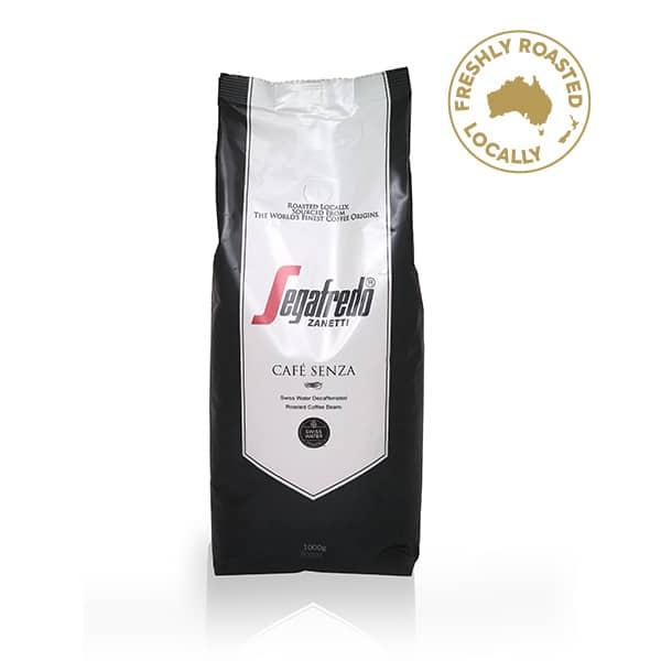 segafredo coffee beans decaf