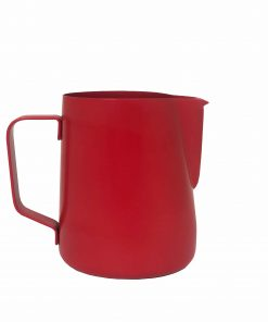 rhino milk pitcher jug in red