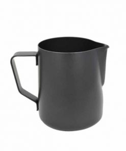 rhino milk pitcher in black 600mL
