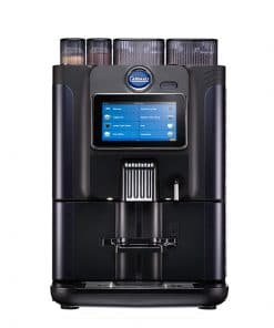 carimali blue dot power coffee machine in black