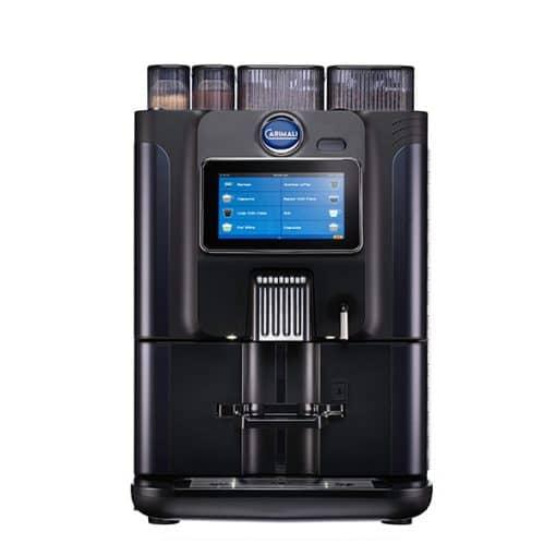carimali blue dot power coffee machine in black