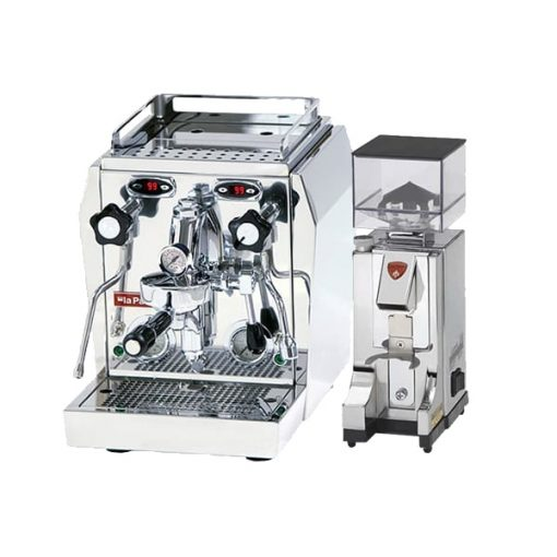 la pavoni evo coffee machine with grinder