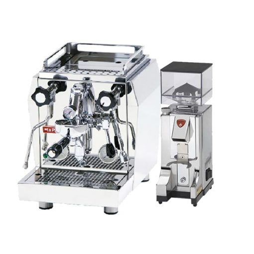 la pavoni HX with grinder
