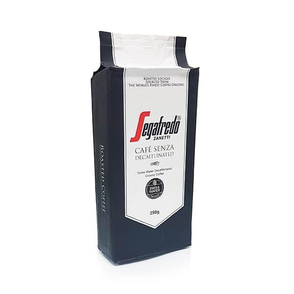 segafredo decaf ground coffee
