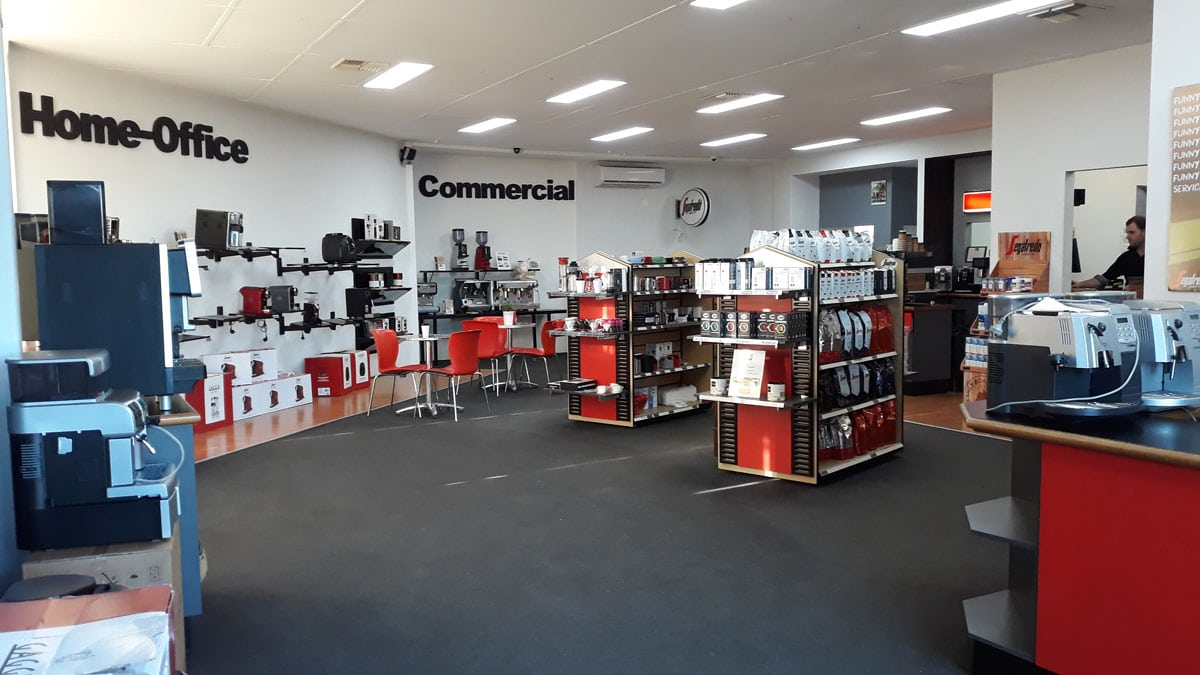 segafredo perth showroom