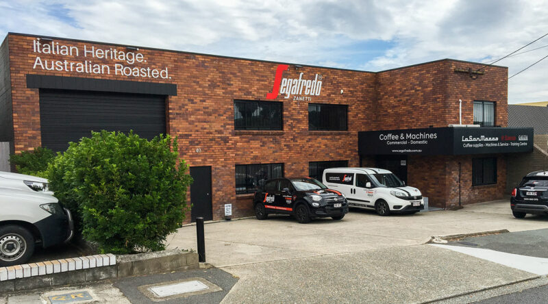 segafredo brisbane office location