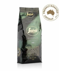 alleanza 100% arabica coffee beans from segafredo