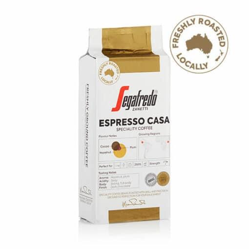 espresso casa 100% arabica coffee ground