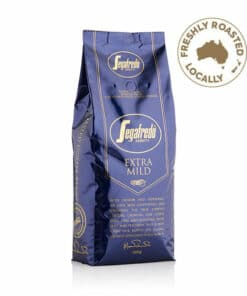 extra mild coffee beans with arabica and robusta