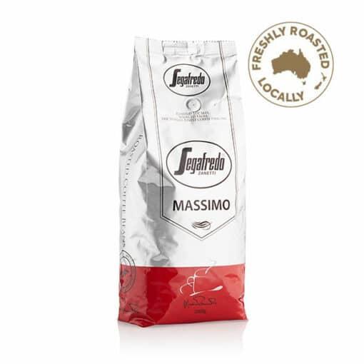 massimo 100% arabica coffee beans