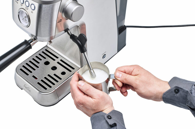 professional steam wand coffee machine