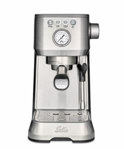 solis perfetta plus coffee machine silver